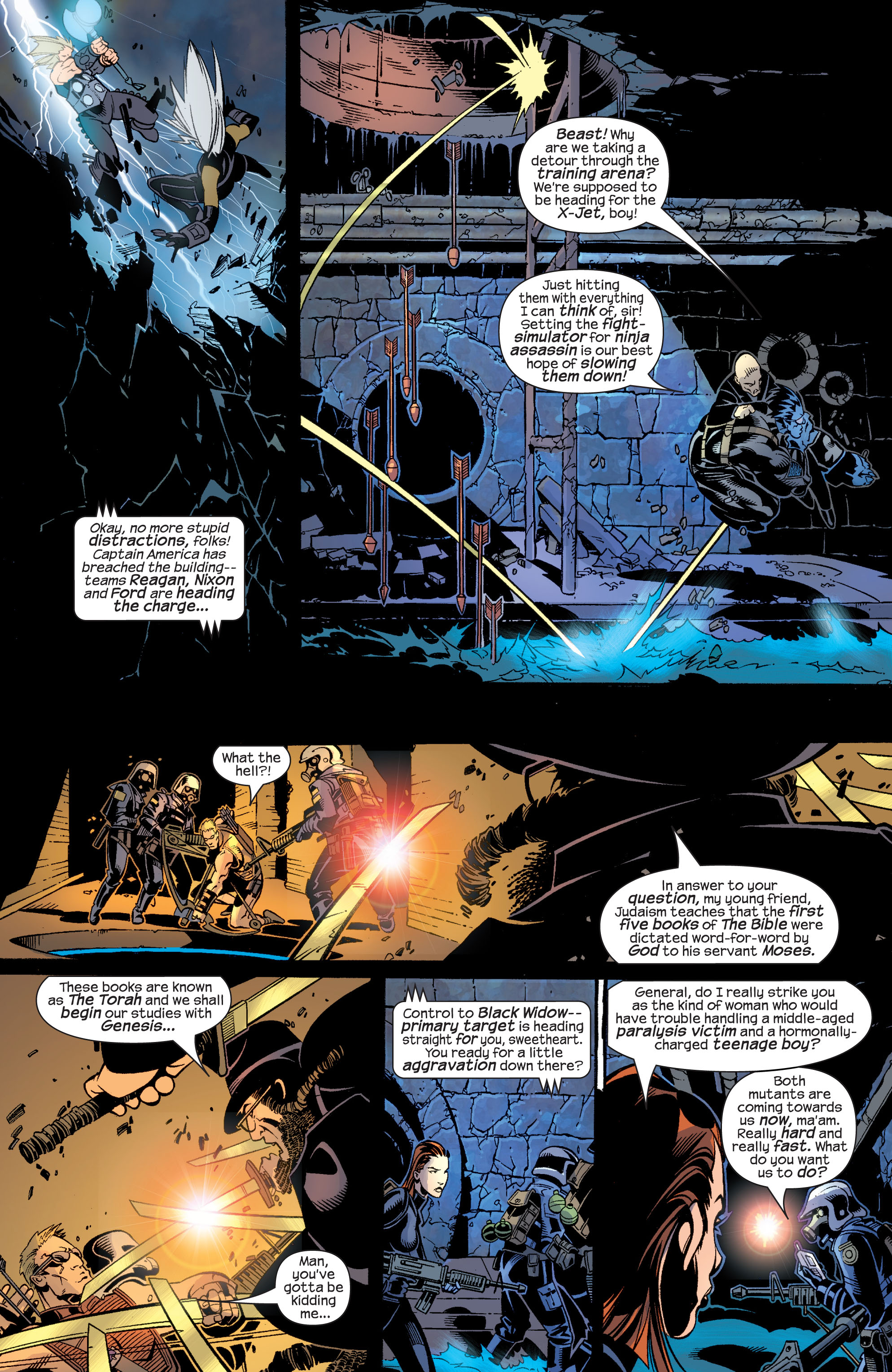 Read online Ultimate War comic -  Issue #4 - 12