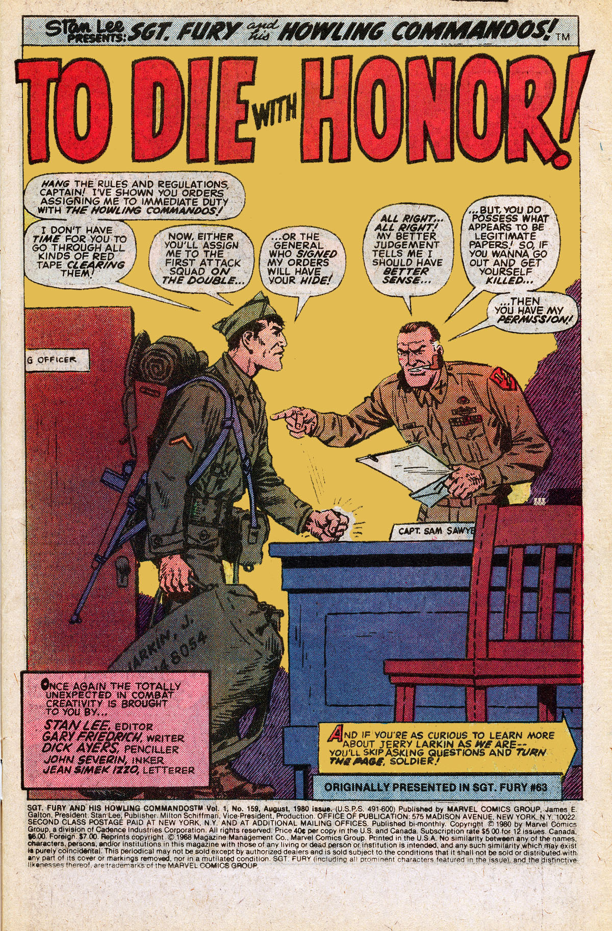 Read online Sgt. Fury comic -  Issue #159 - 3