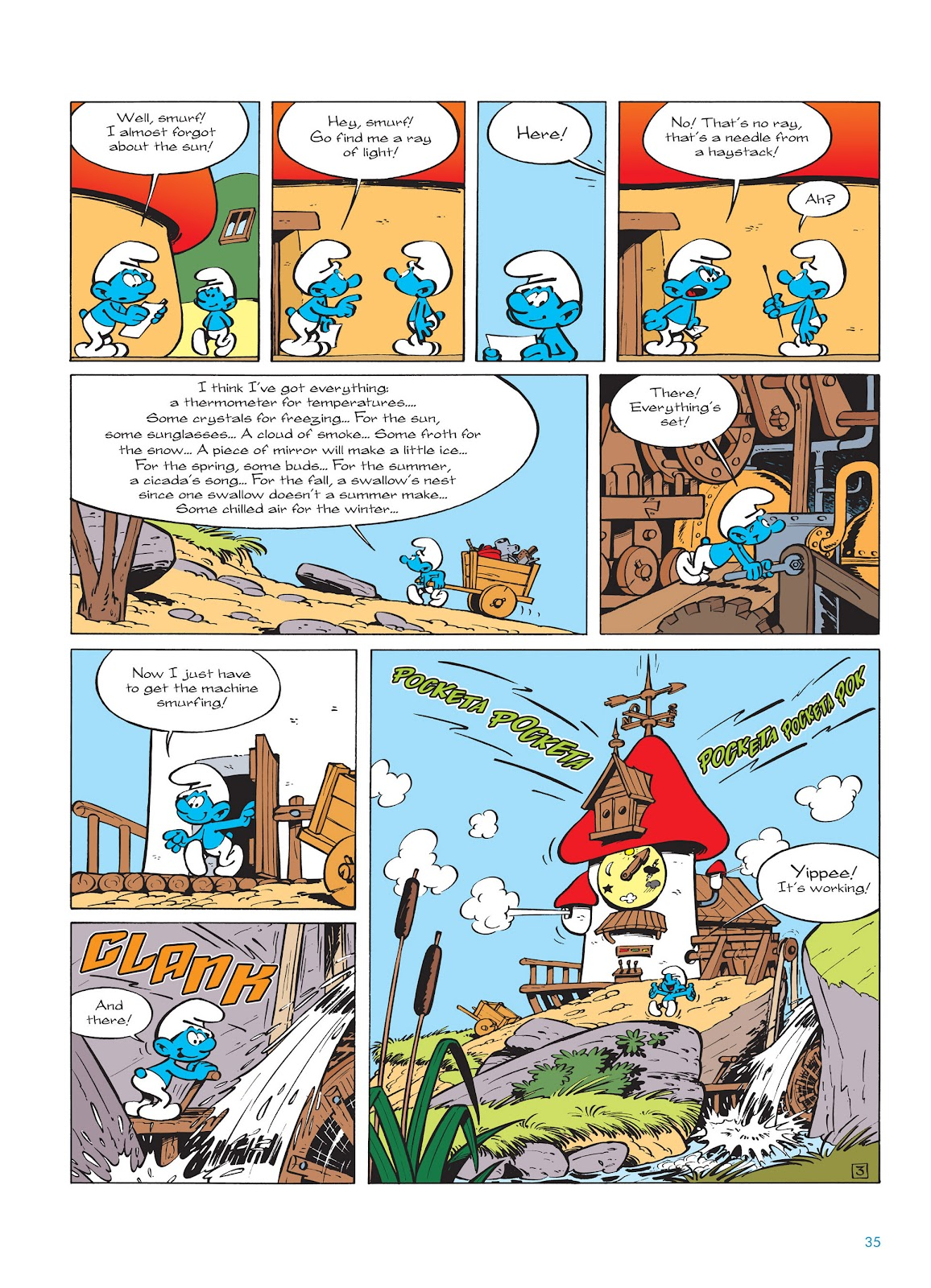 Read online The Smurfs comic -  Issue #14 - 36