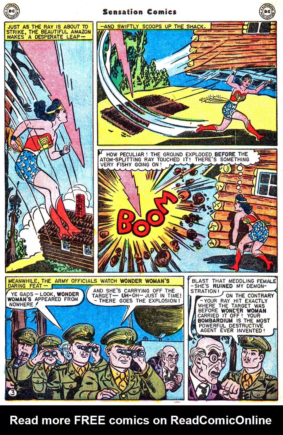 Read online Sensation (Mystery) Comics comic -  Issue #54 - 6