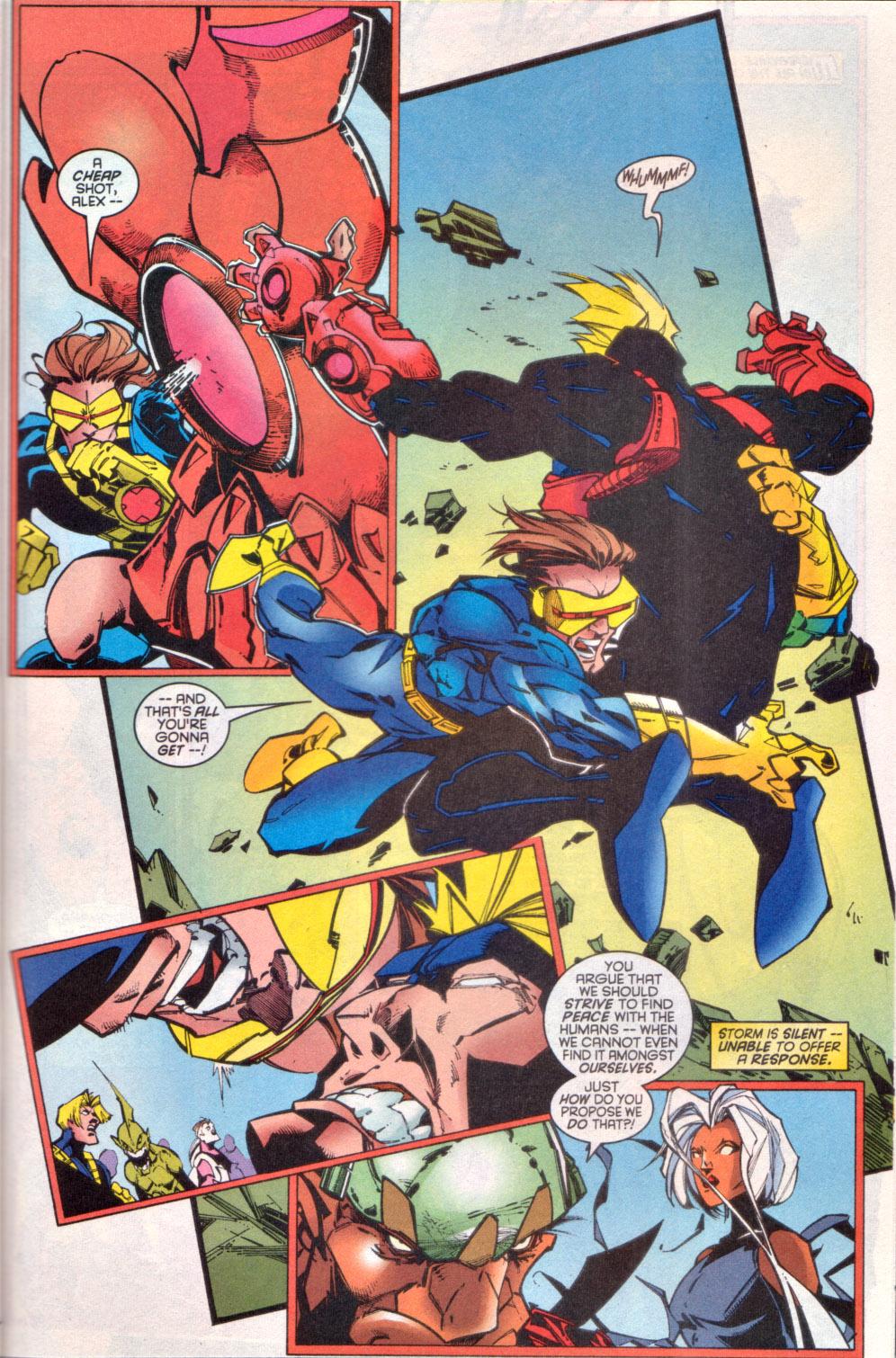 Read online Uncanny X-Men (1963) comic -  Issue # _Annual 1997 - 32