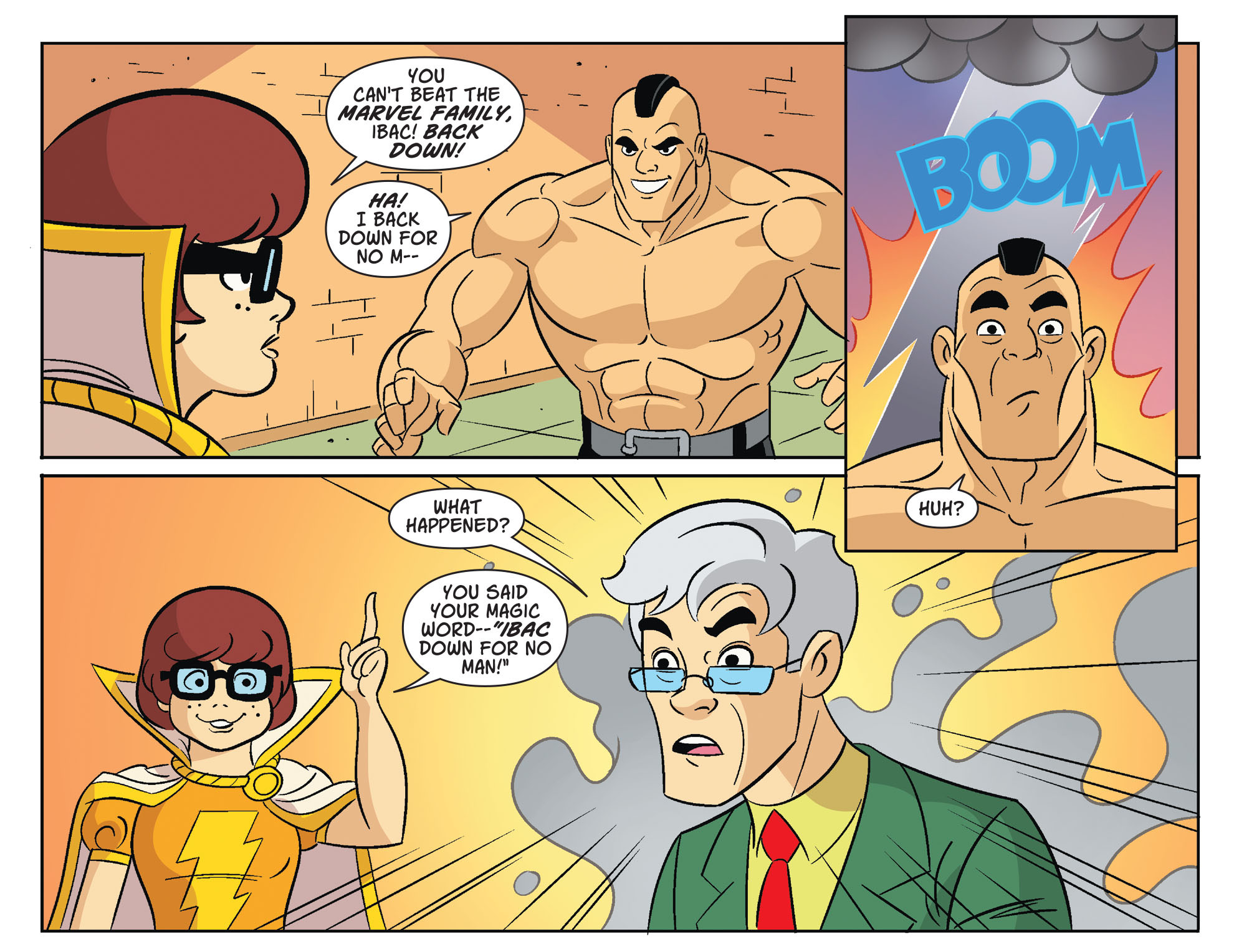 Read online Scooby-Doo! Team-Up comic -  Issue #32 - 16
