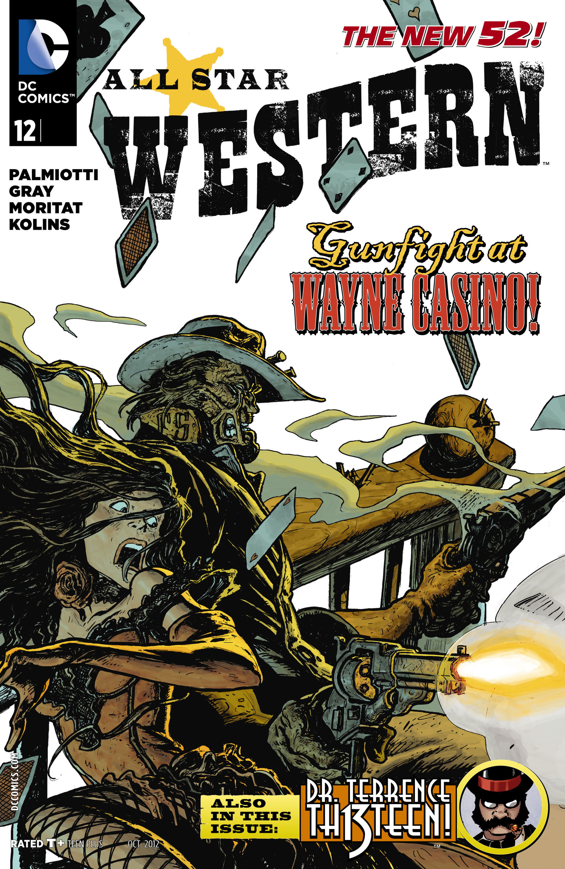 Read online All-Star Western (2011) comic -  Issue #12 - 1