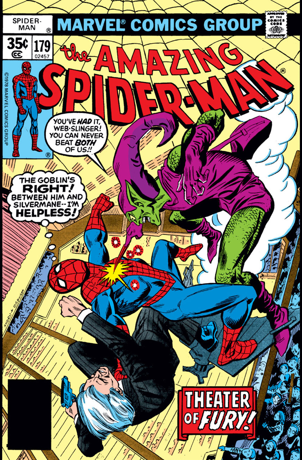 The Amazing Spider-Man (1963) 179 Page 1