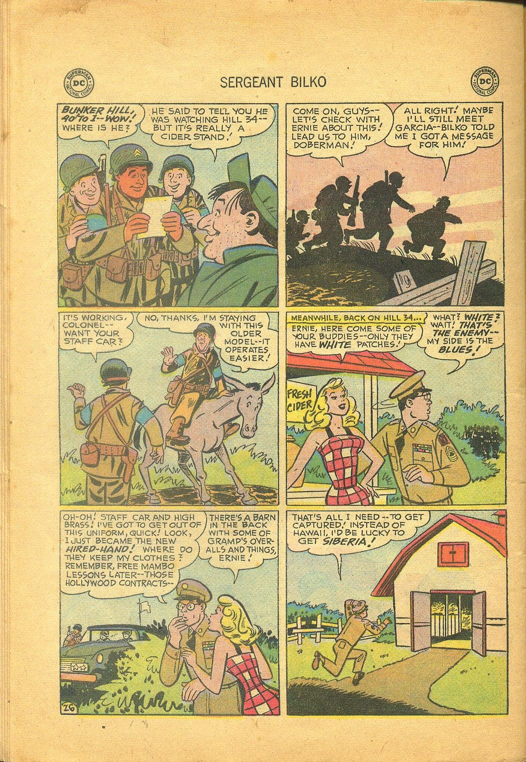 Sergeant Bilko issue 1 - Page 28