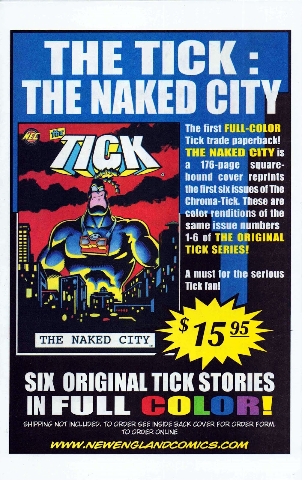 Read online The Tick: Days of Drama comic -  Issue #6 - 30