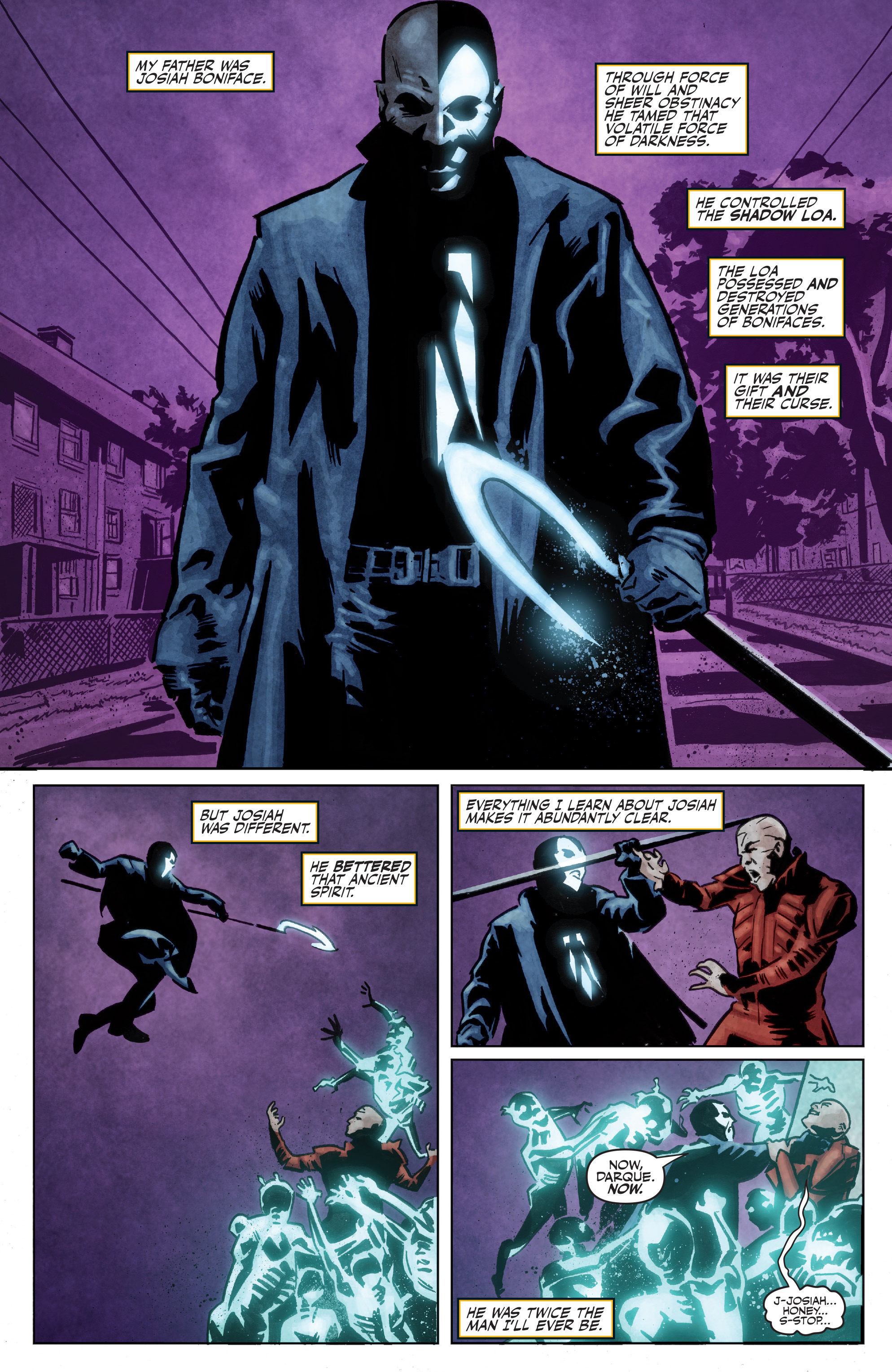 Read online Shadowman: End Times comic -  Issue #1 - 3