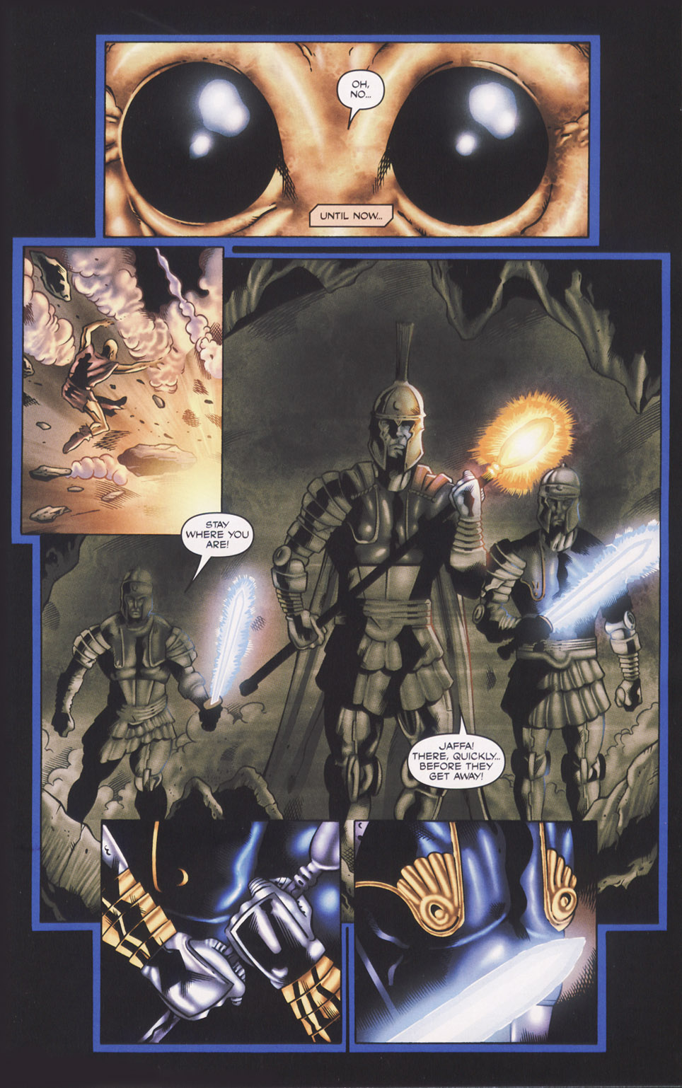 Read online Stargate SG-1: Fall of Rome comic -  Issue #1 - 7