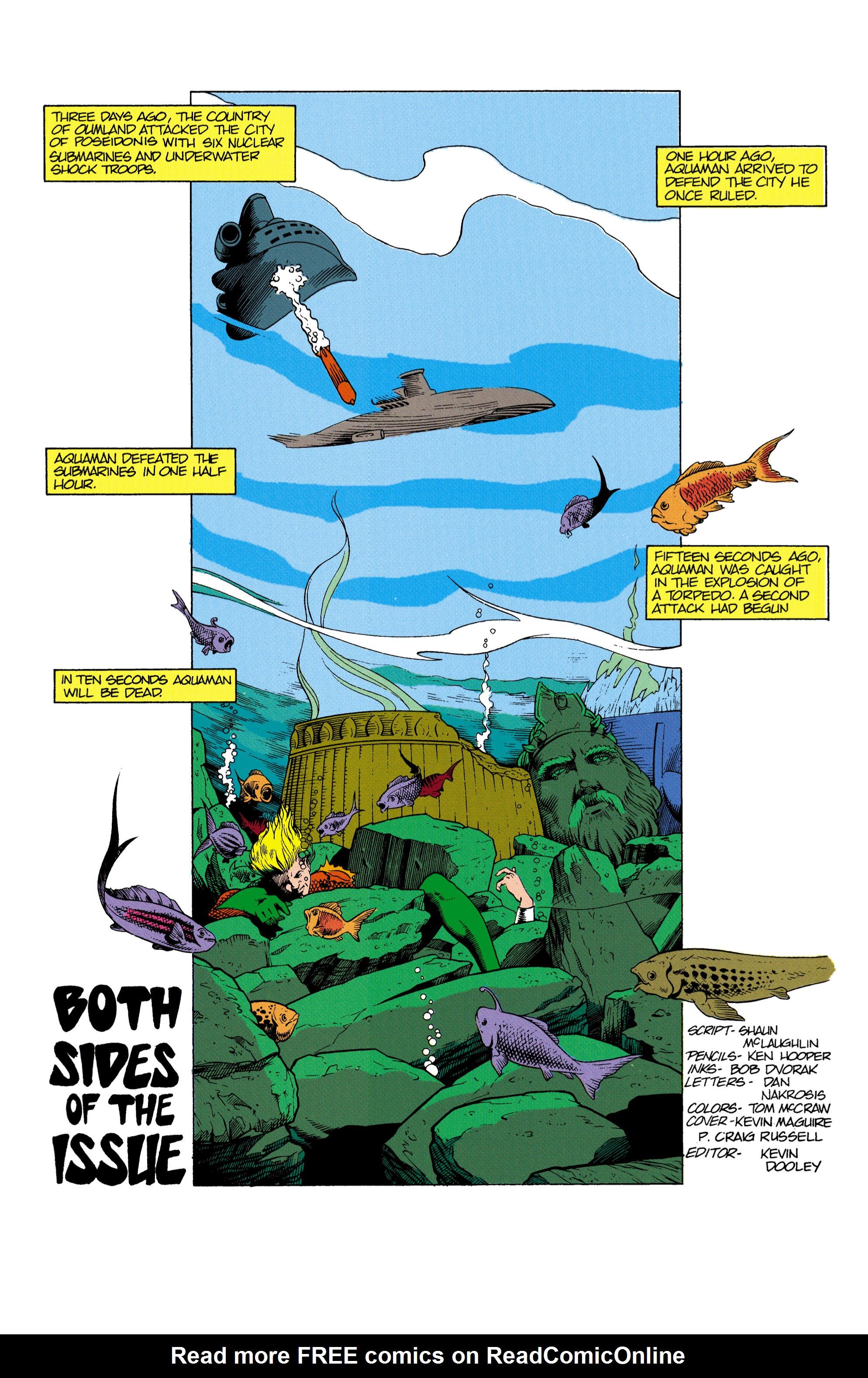 Read online Aquaman (1991) comic -  Issue #2 - 2