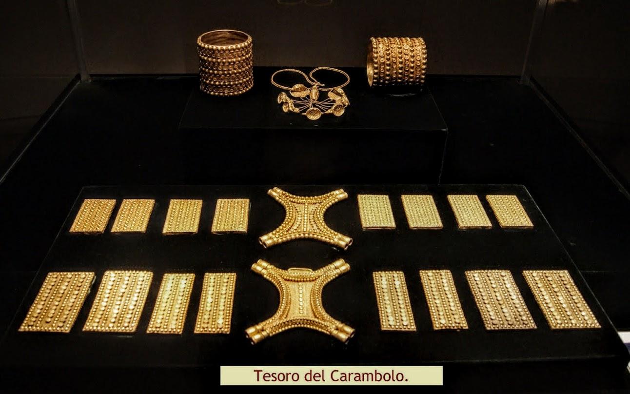 Resultado de imagen de El tesoro del Carambolo S.VII-VI A