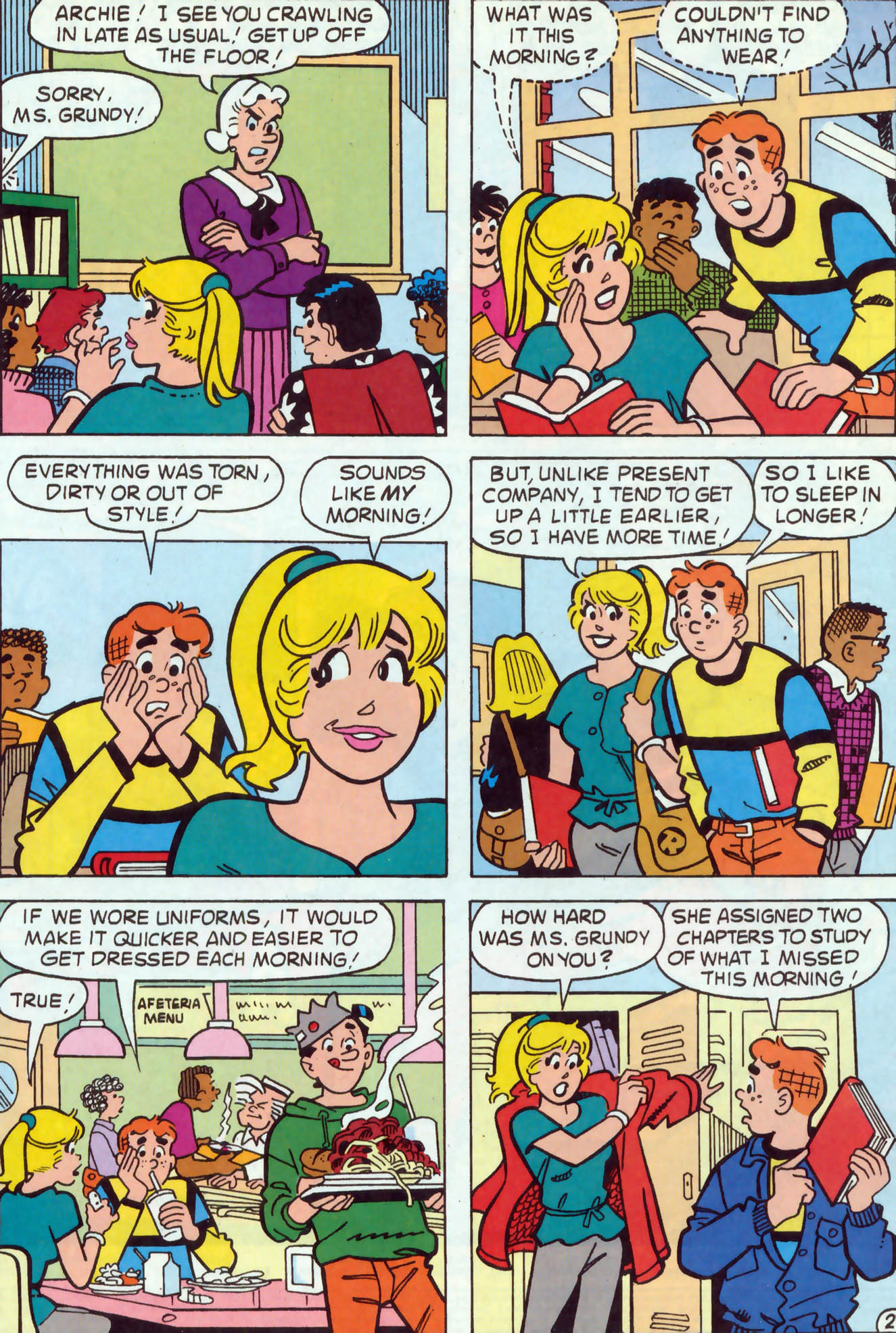 Read online Archie (1960) comic -  Issue #467 - 3
