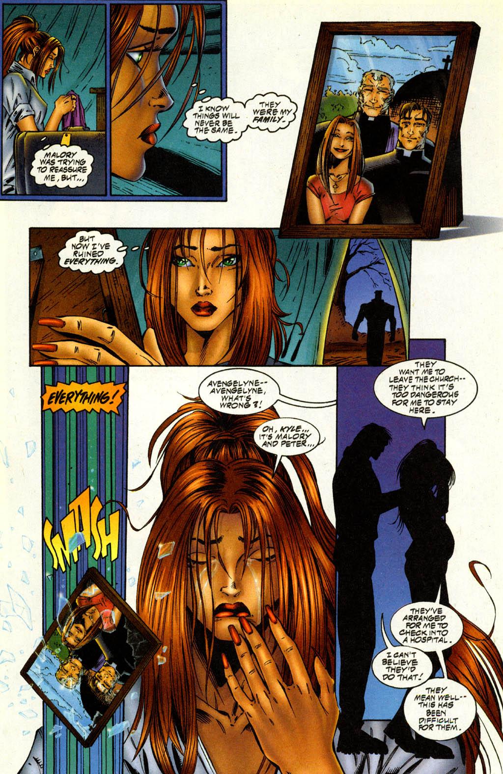 Read online Avengelyne (1996) comic -  Issue #2 - 8