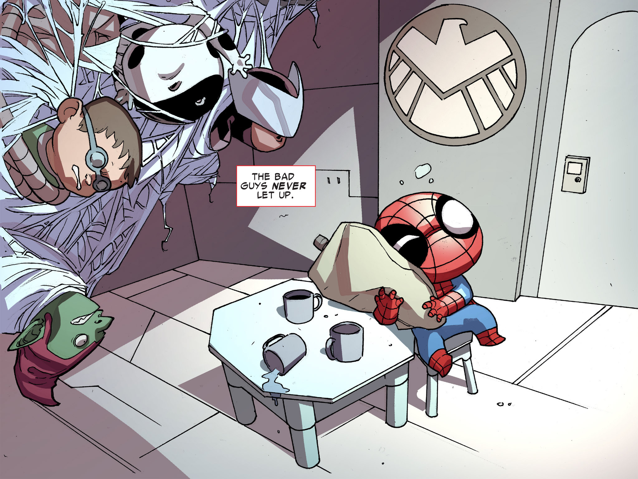 Read online Ultimate Spider-Man (Infinite Comics) (2016) comic -  Issue #8 - 6