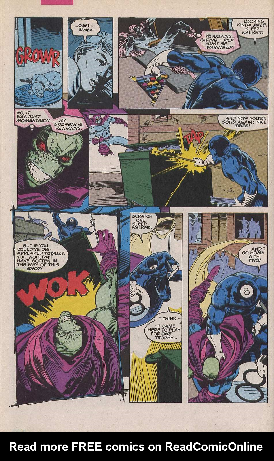 Read online Sleepwalker comic -  Issue #19 - 16
