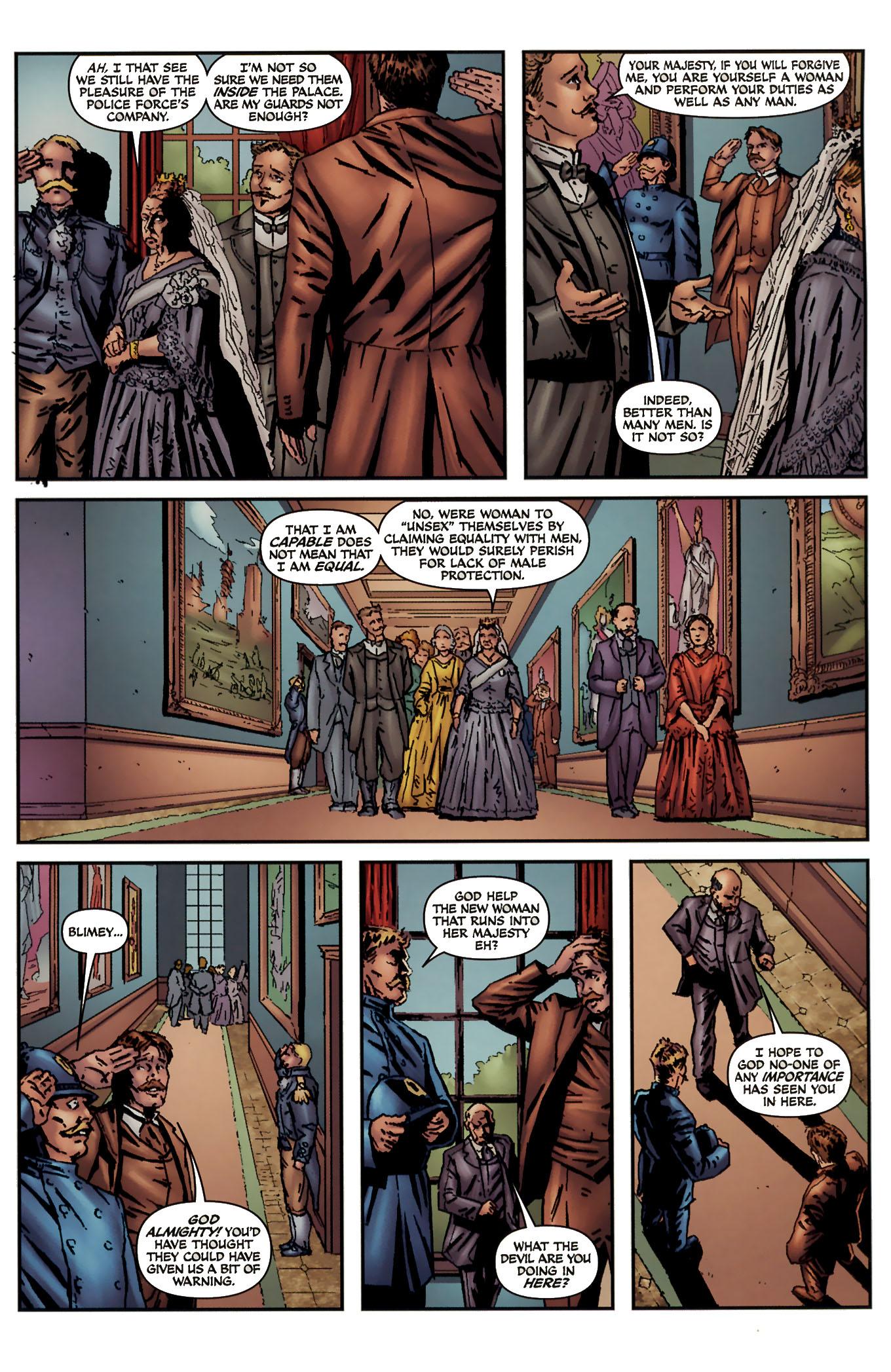 Read online Sherlock Holmes (2009) comic -  Issue #3 - 9