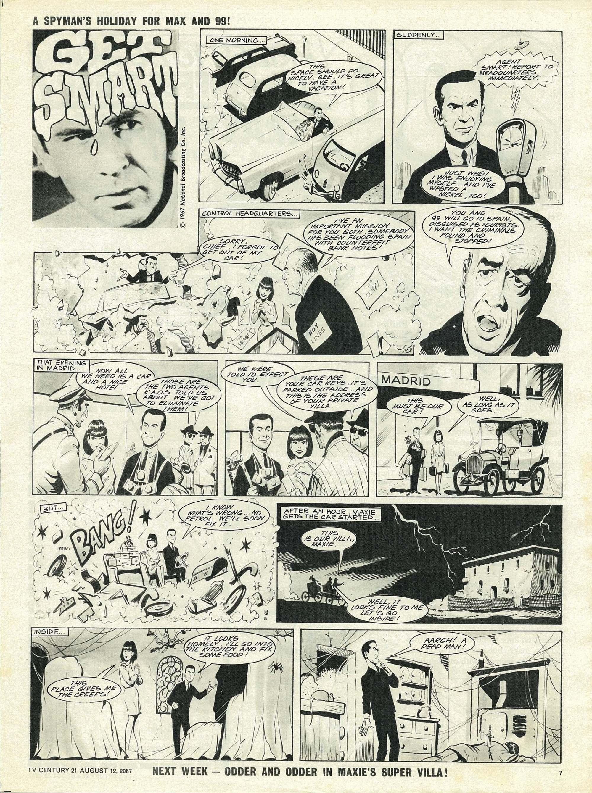 Read online TV Century 21 (TV 21) comic -  Issue #134 - 7