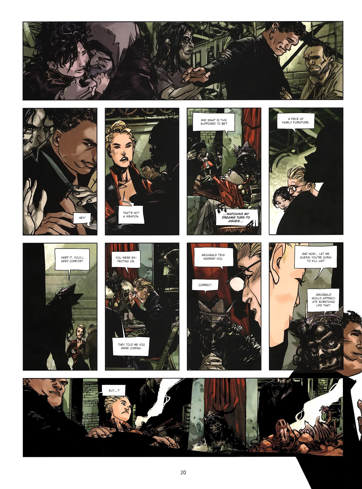 Read online Cutting Edge (2013) comic -  Issue #4 - 16