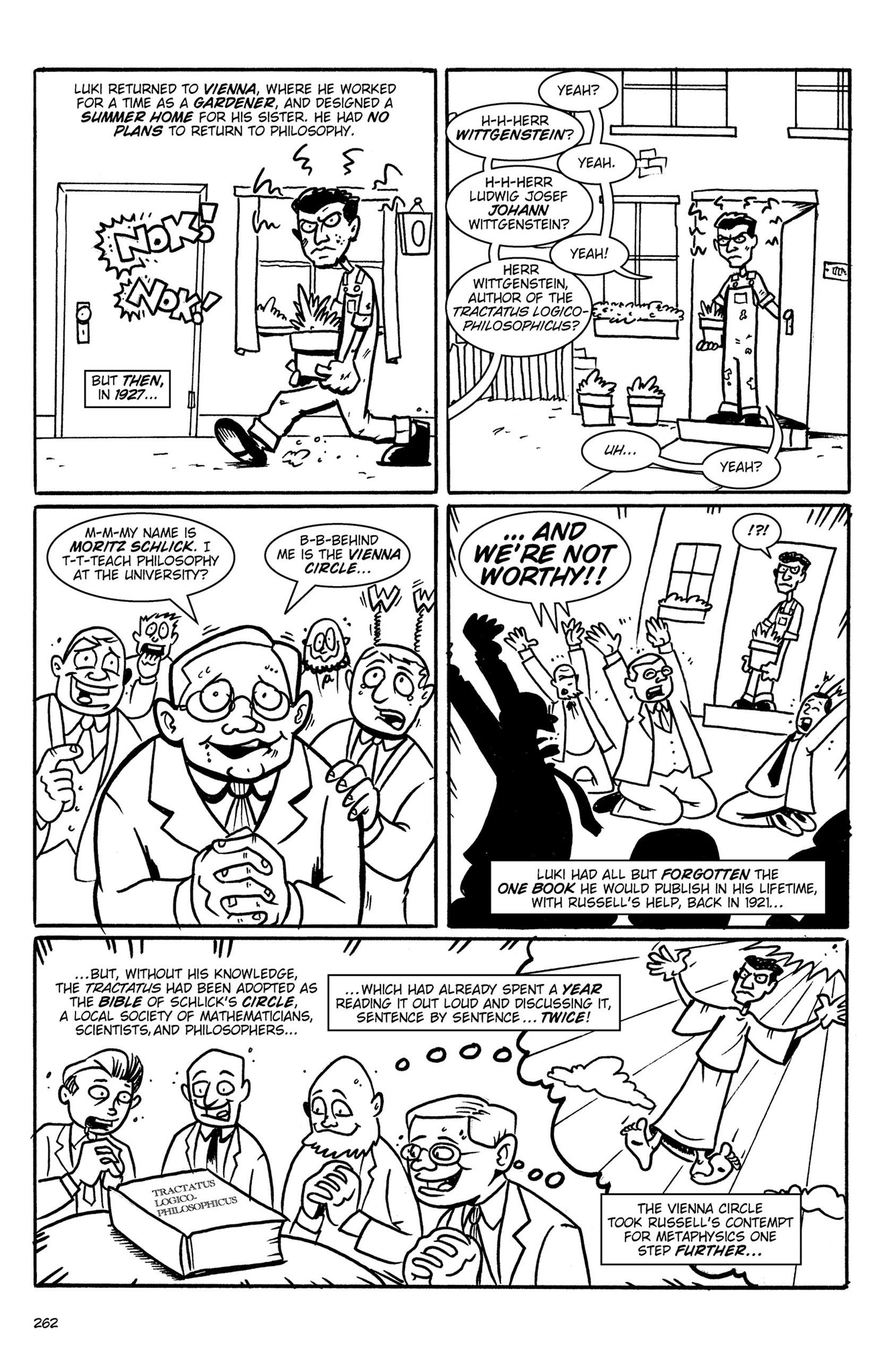 Read online Action Philosophers! comic -  Issue #Action Philosophers! TPB (Part 2) - 90