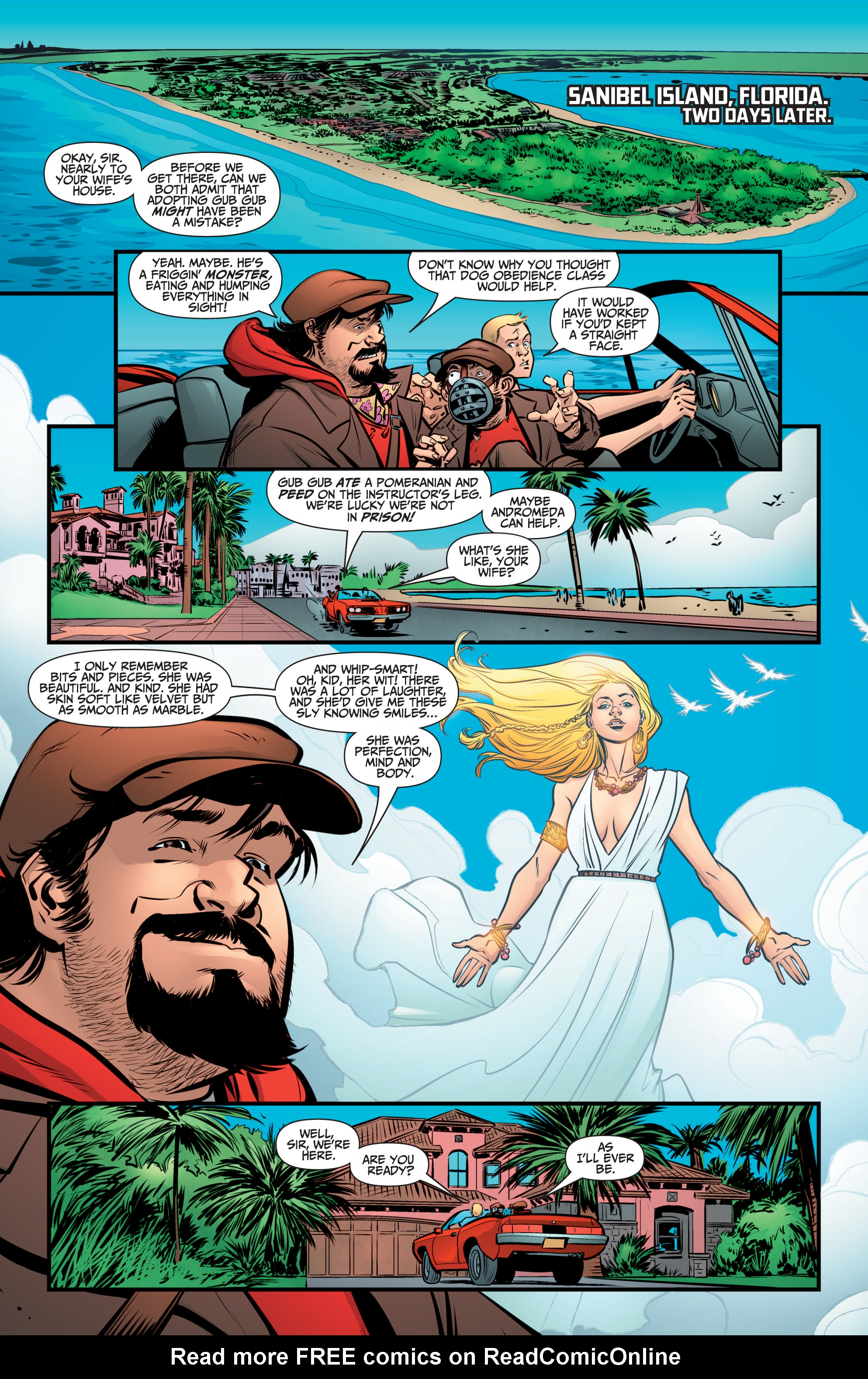 Read online A&A: The Adventures of Archer & Armstrong comic -  Issue #8 - 20