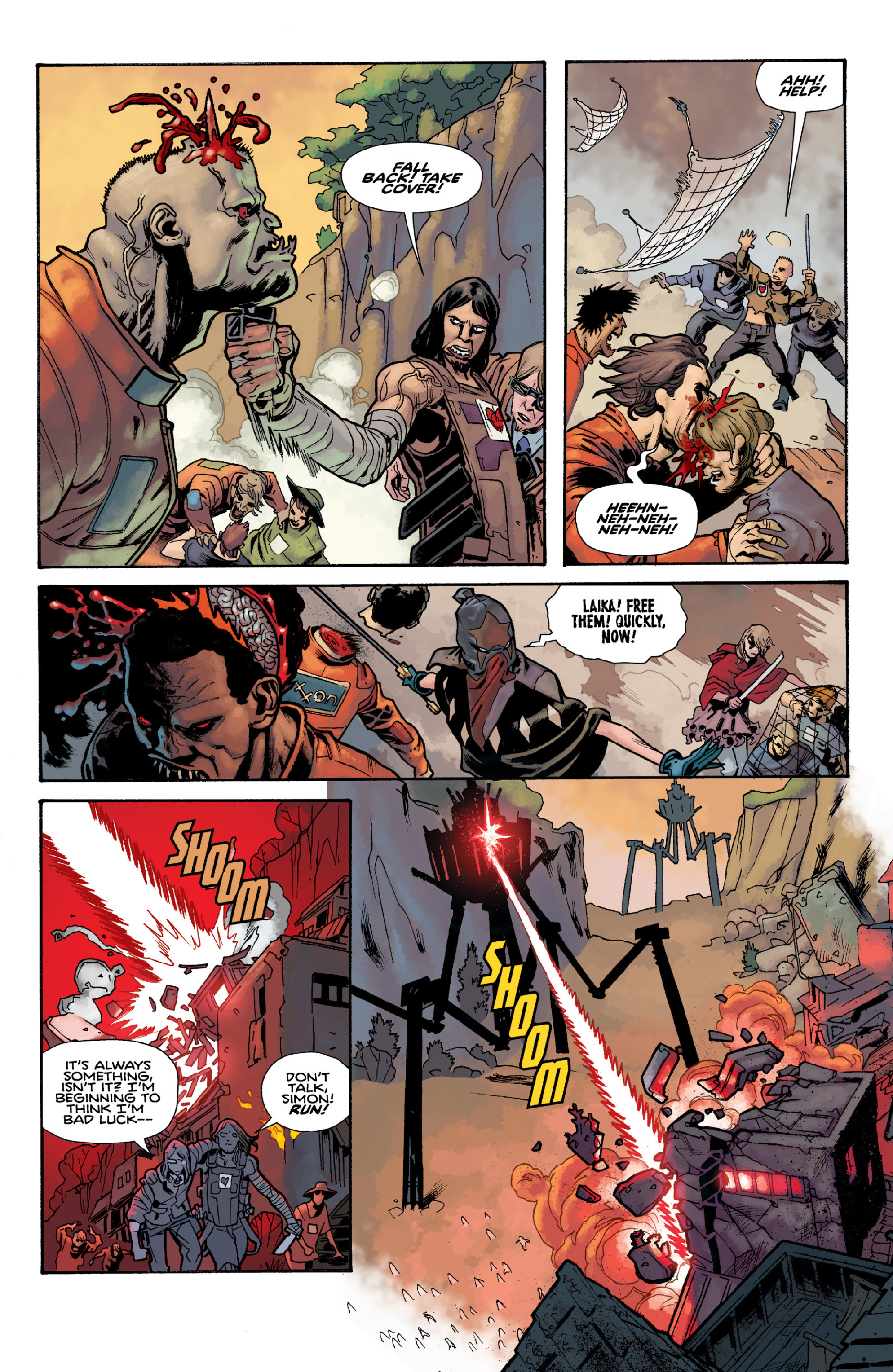 Read online Orchid comic -  Issue # TPB 3 - 83