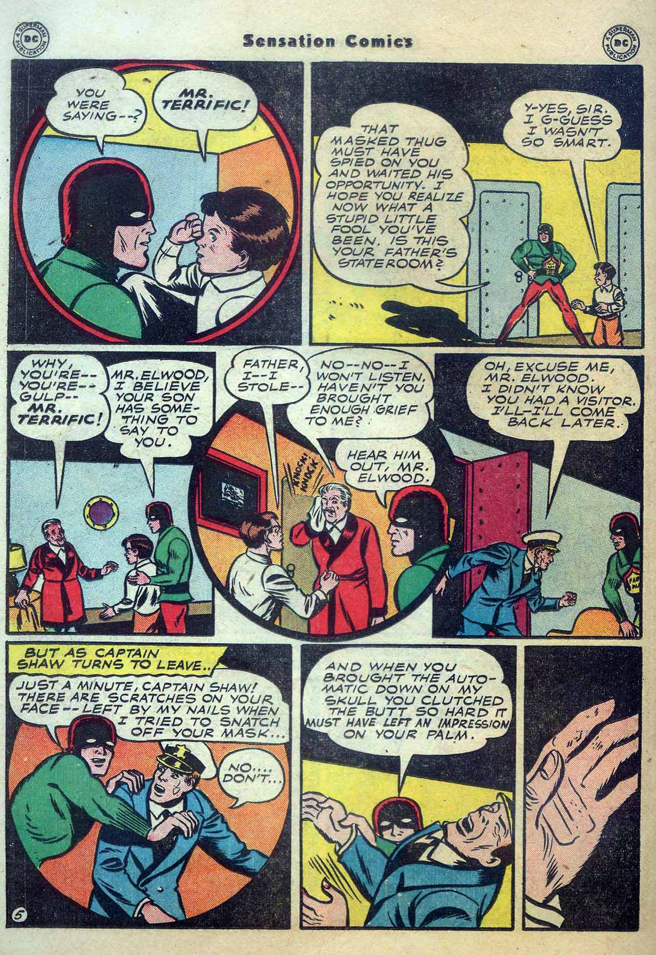 Read online Sensation (Mystery) Comics comic -  Issue #56 - 36