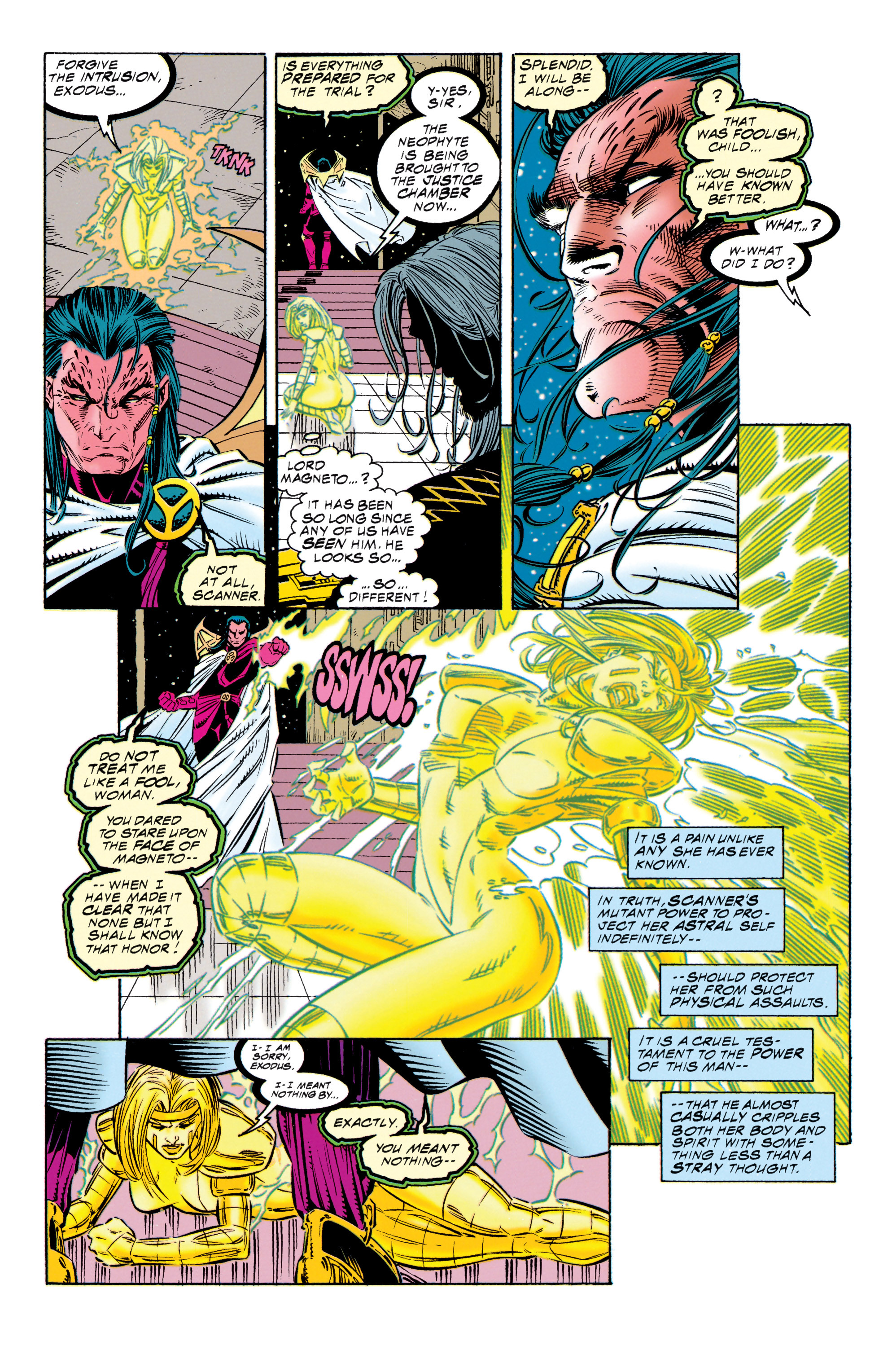 Read online Uncanny X-Men (1963) comic -  Issue #315 - 7