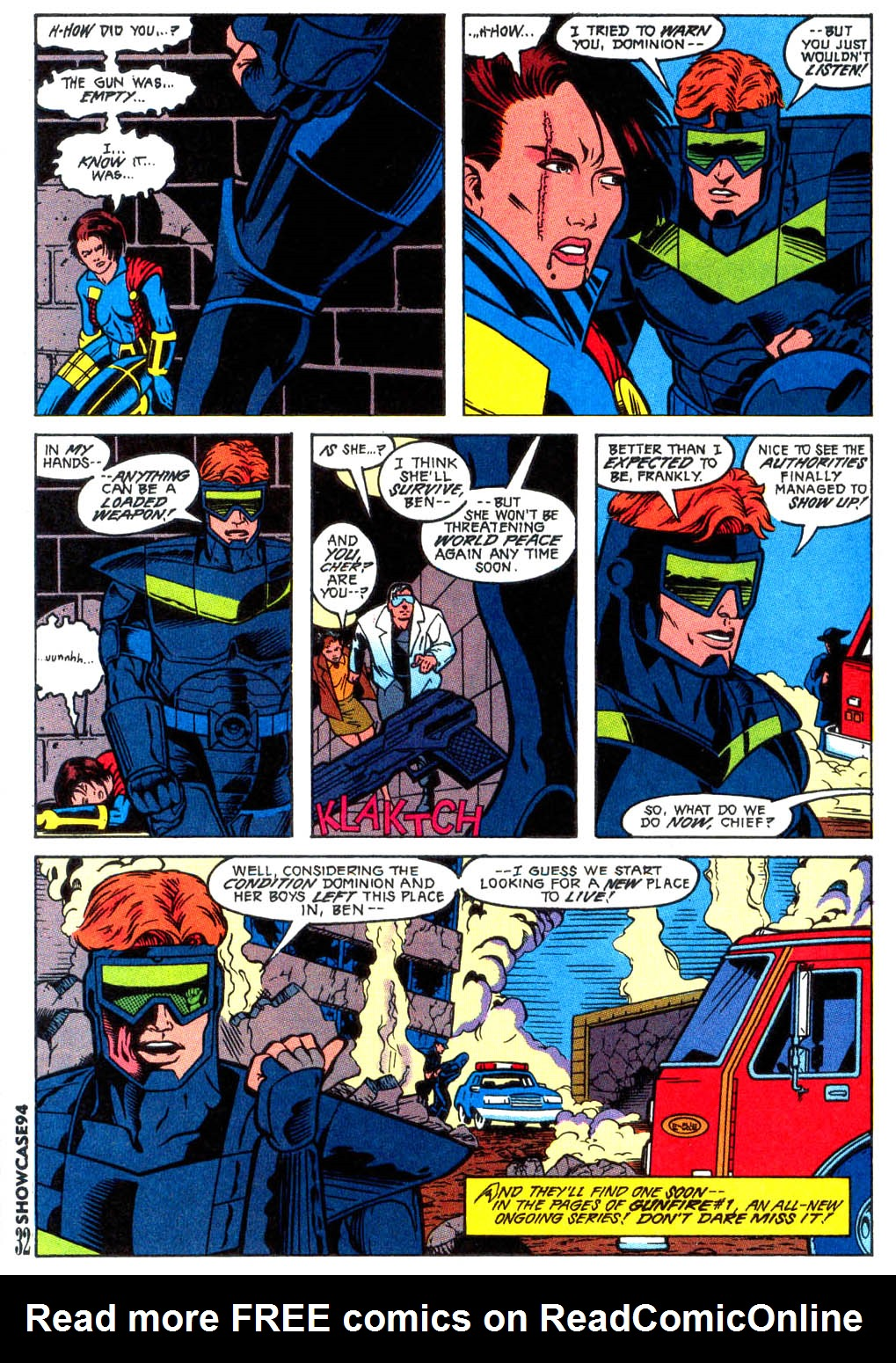 Read online Showcase '94 comic -  Issue #2 - 28