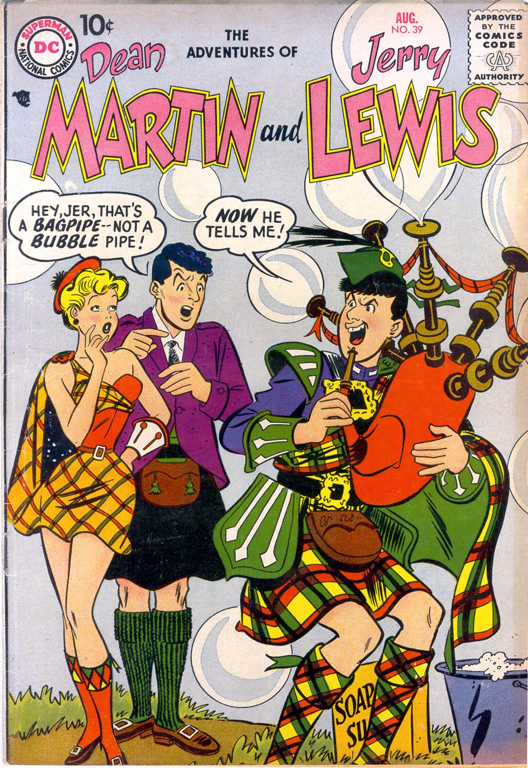 The Adventures of Dean Martin and Jerry Lewis 39 Page 1