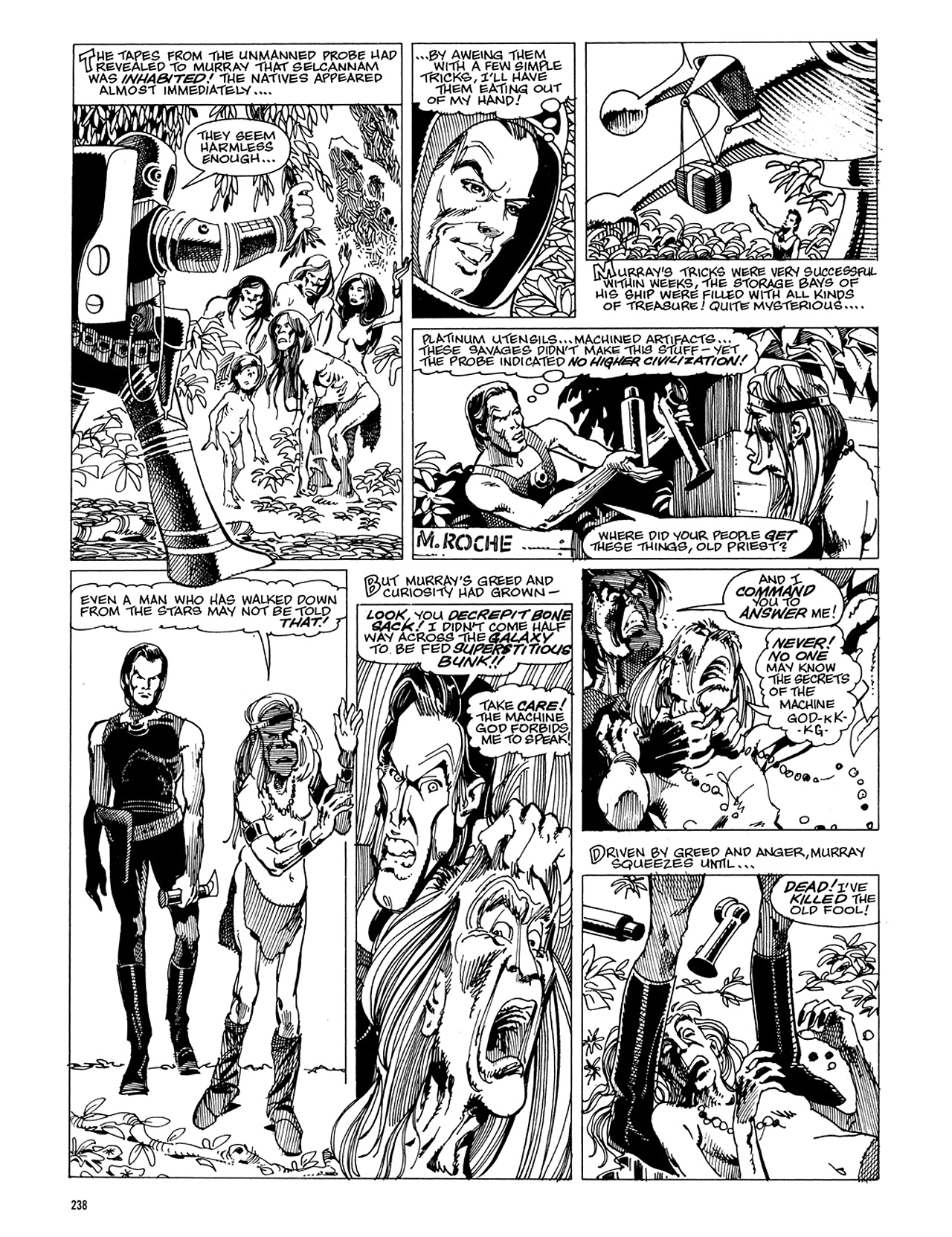 Read online Eerie Archives comic -  Issue # TPB 5 - 239
