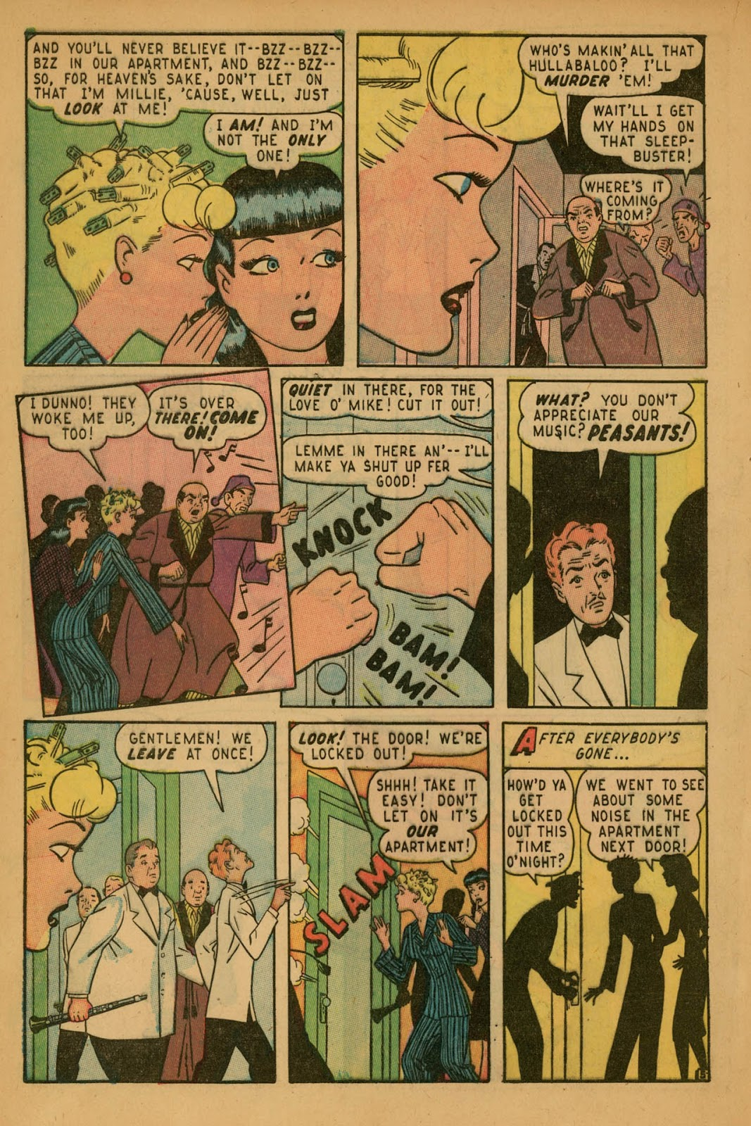 Read online Millie the Model comic -  Issue #7 - 8