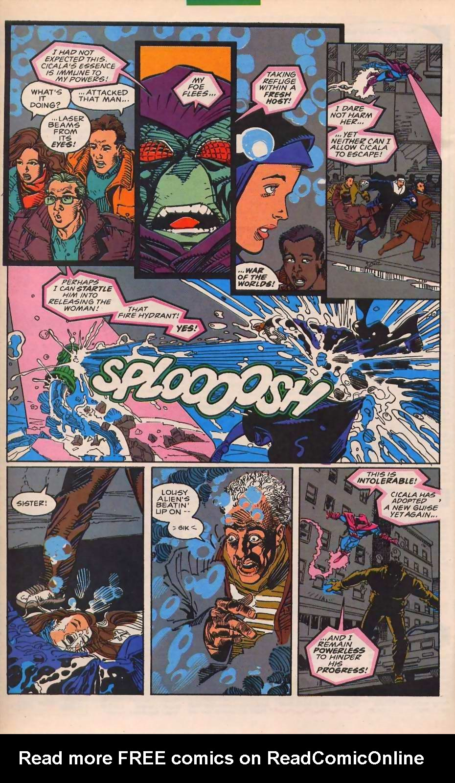 Read online Sleepwalker comic -  Issue #30 - 18