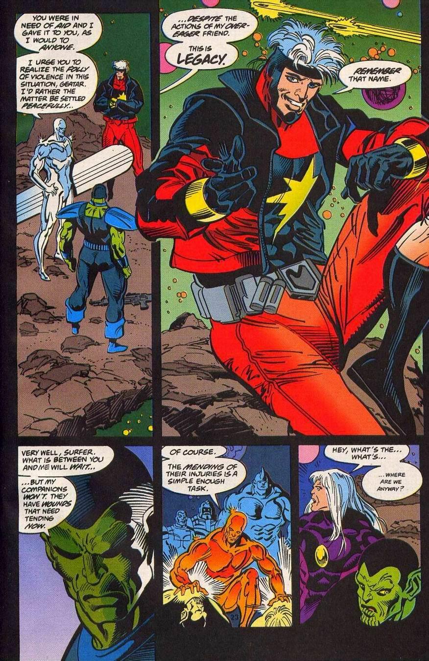 Read online Secret Defenders comic -  Issue #14 - 18