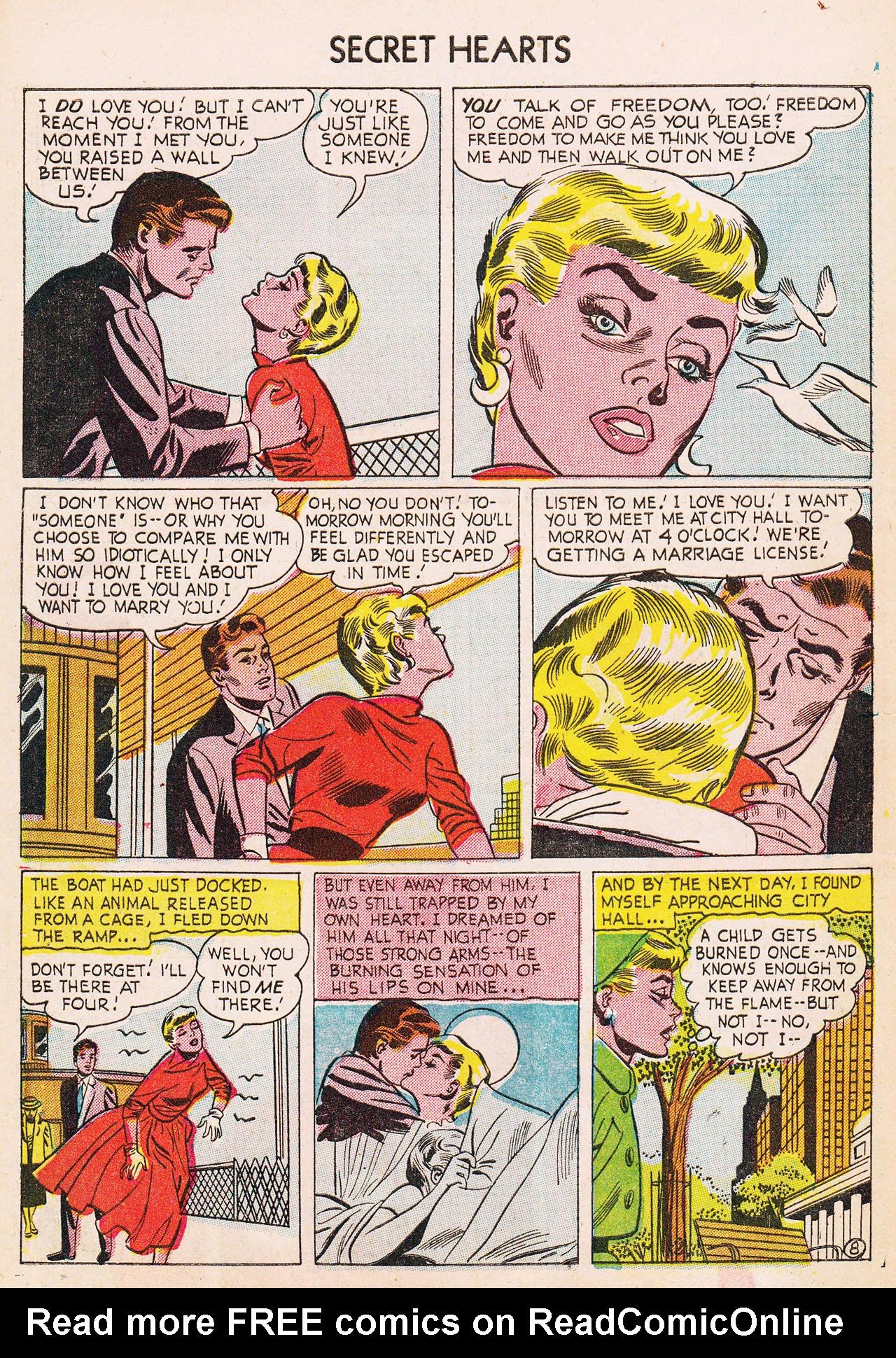 Read online Secret Hearts comic -  Issue #24 - 10