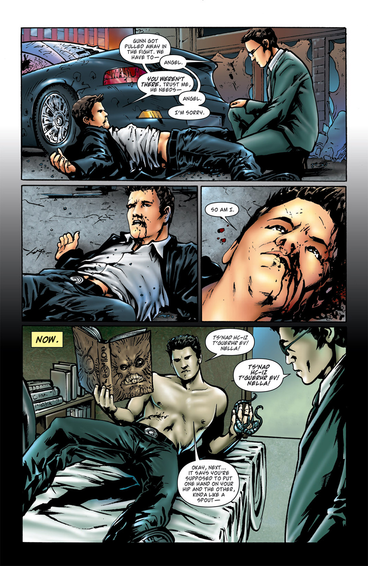 Read online Angel: After The Fall comic -  Issue #4 - 8