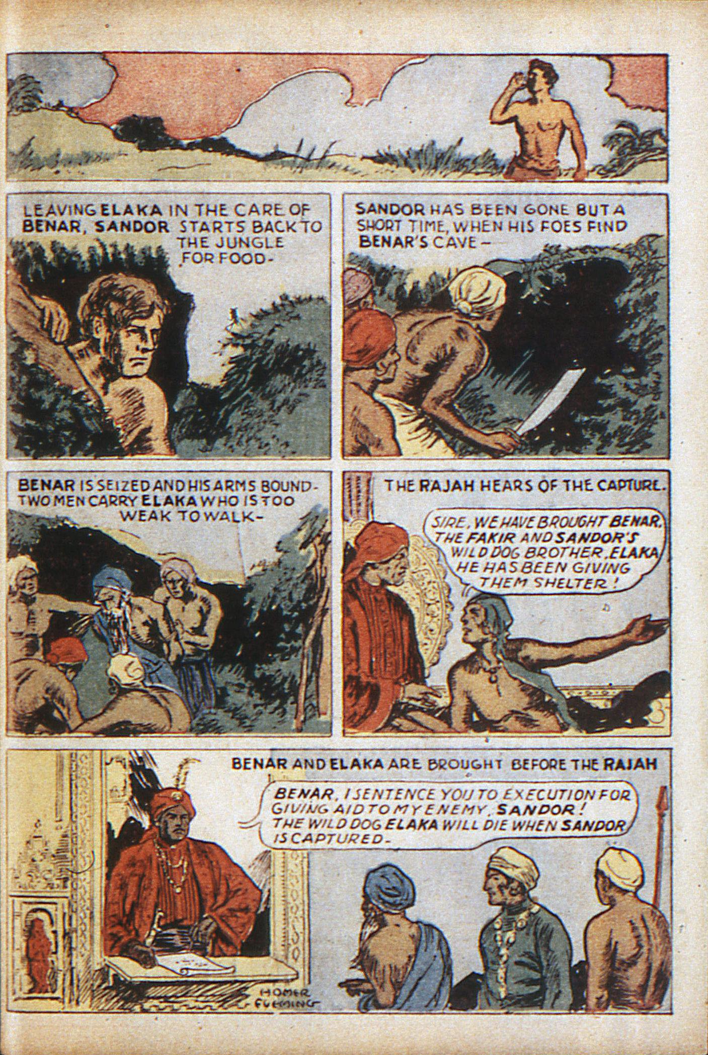 Read online Adventure Comics (1938) comic -  Issue #10 - 56