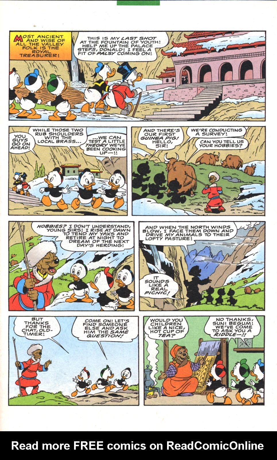 Read online Uncle Scrooge (1953) comic -  Issue #300 - 31