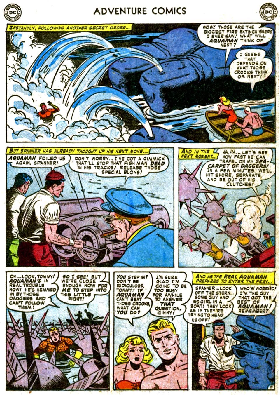 Read online Adventure Comics (1938) comic -  Issue #177 - 21