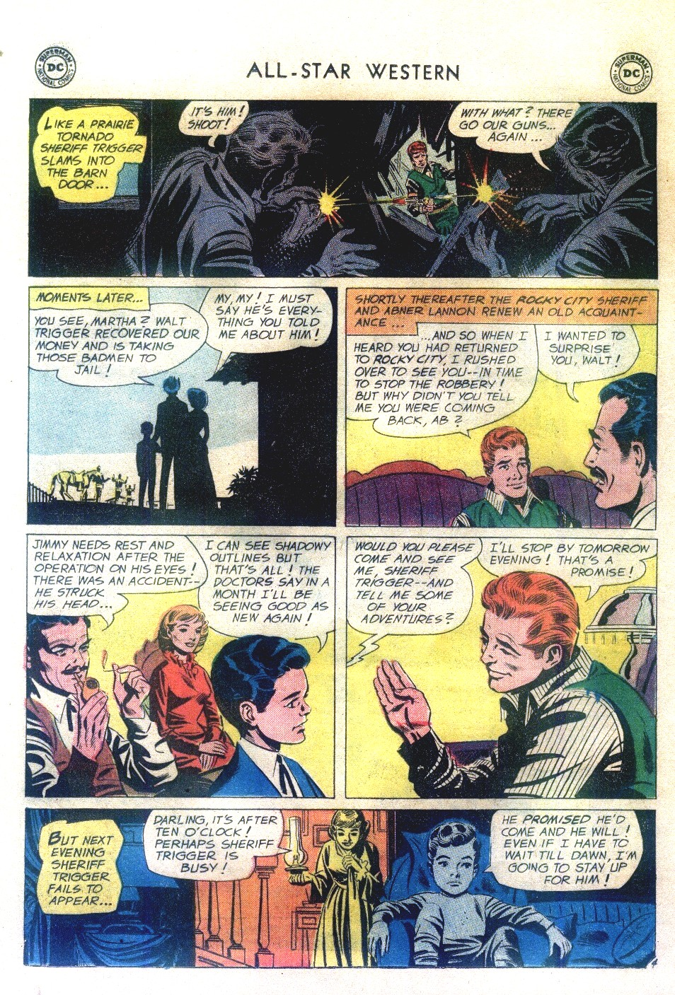 Read online All-Star Western (1951) comic -  Issue #111 - 28