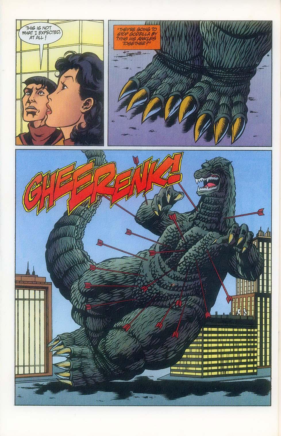 Godzilla (1995) Issue #7 #8 - English 19