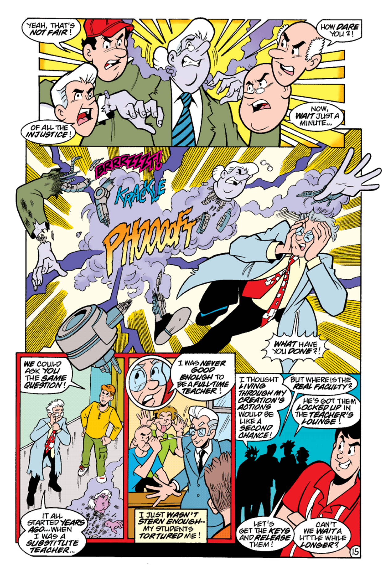 Read online Archie's Weird Mysteries comic -  Issue #16 - 17