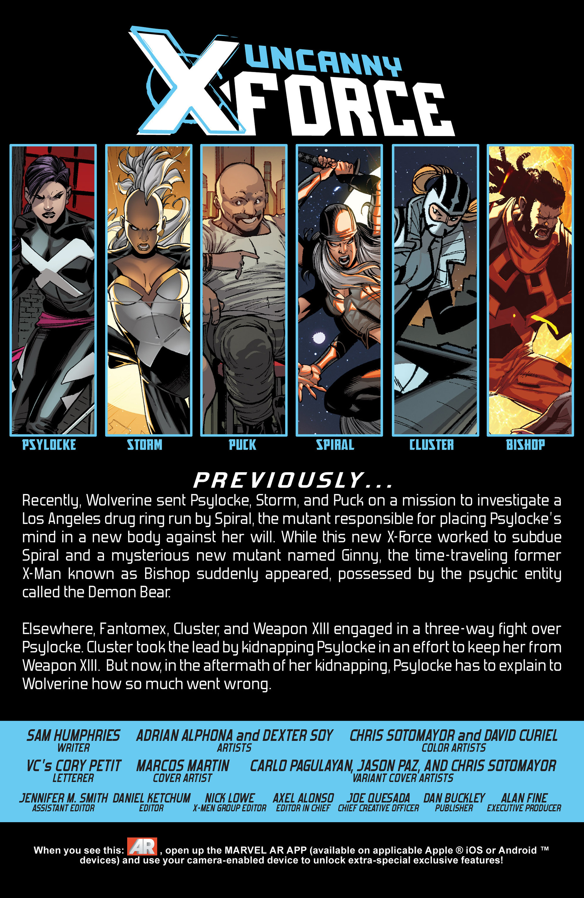 Read online Uncanny X-Force (2013) comic -  Issue #6 - 2