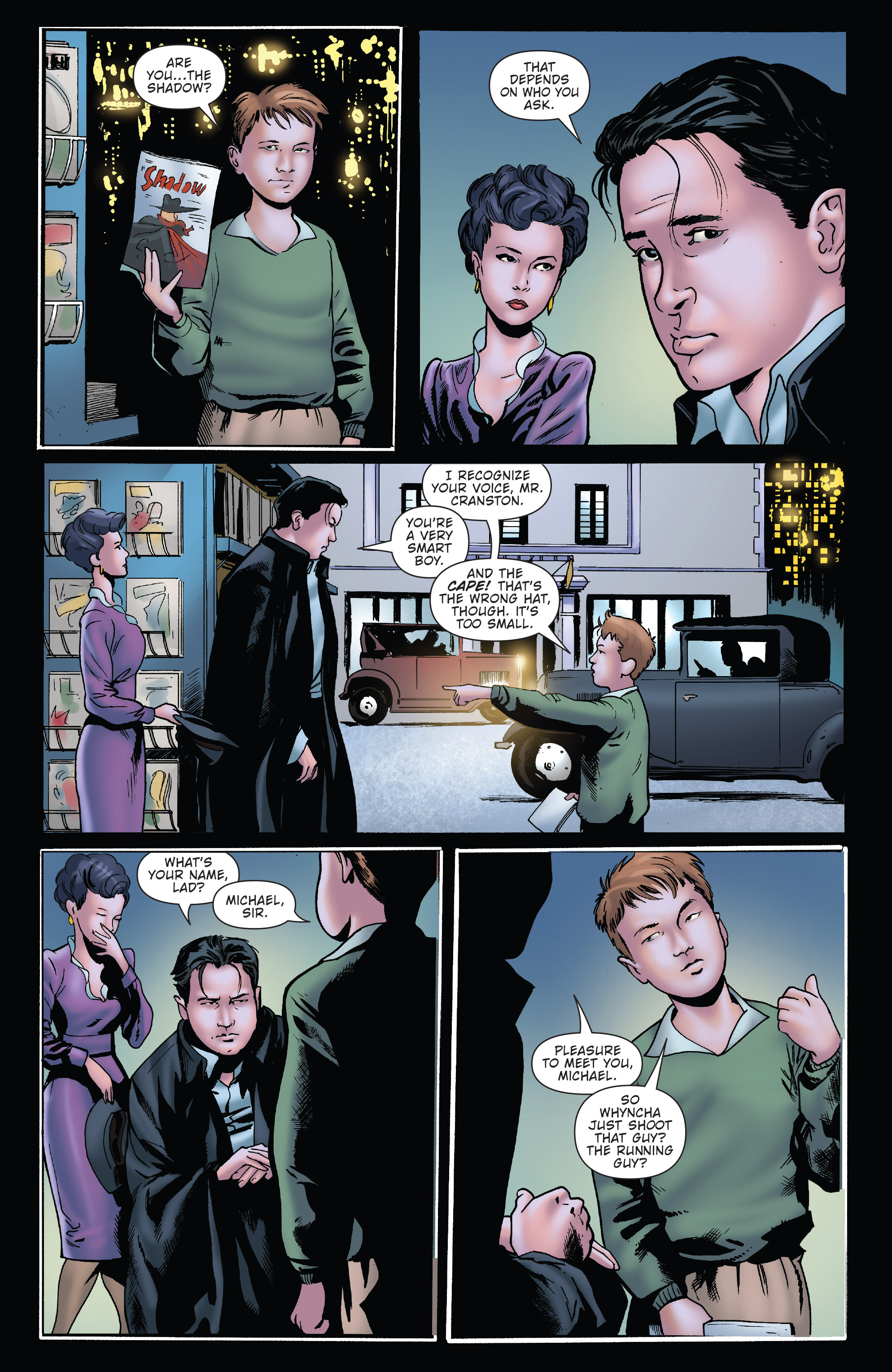 Read online Twilight Zone The Shadow comic -  Issue #2 - 19