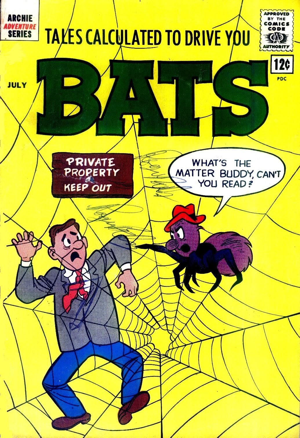 Read online Tales Calculated to Drive You Bats comic -  Issue #5 - 1