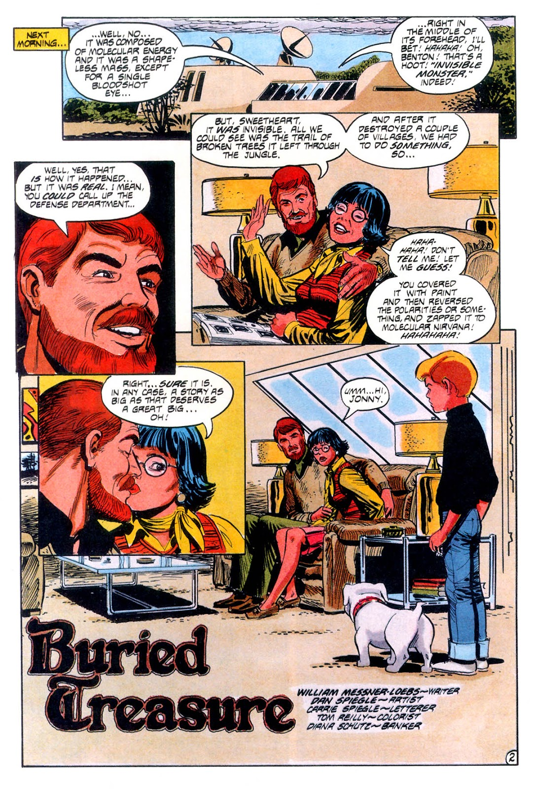 Jonny Quest (1986) issue 12 - Page 5