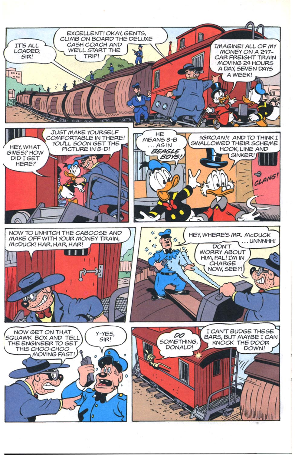 Read online Uncle Scrooge (1953) comic -  Issue #301 - 21