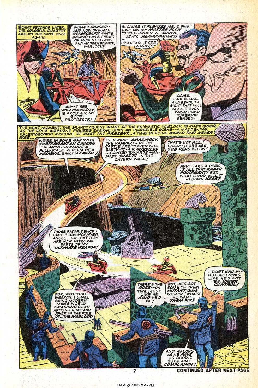 Read online Uncanny X-Men (1963) comic -  Issue #78 - 9