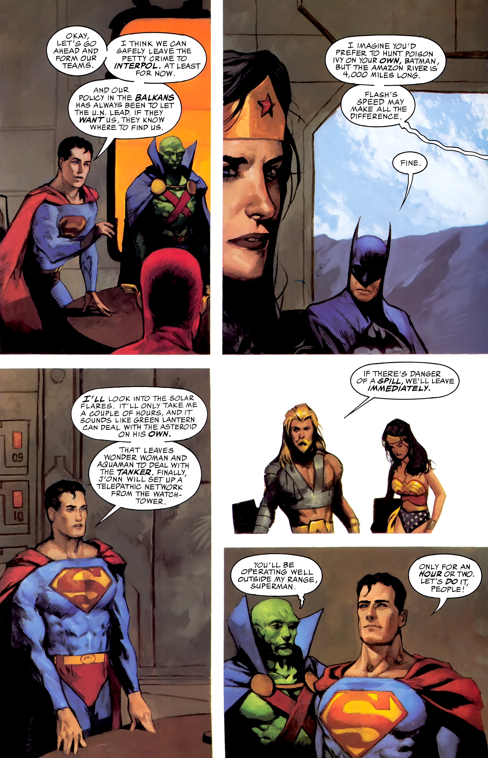 Read online JLA: A League of One comic -  Issue # Full - 34