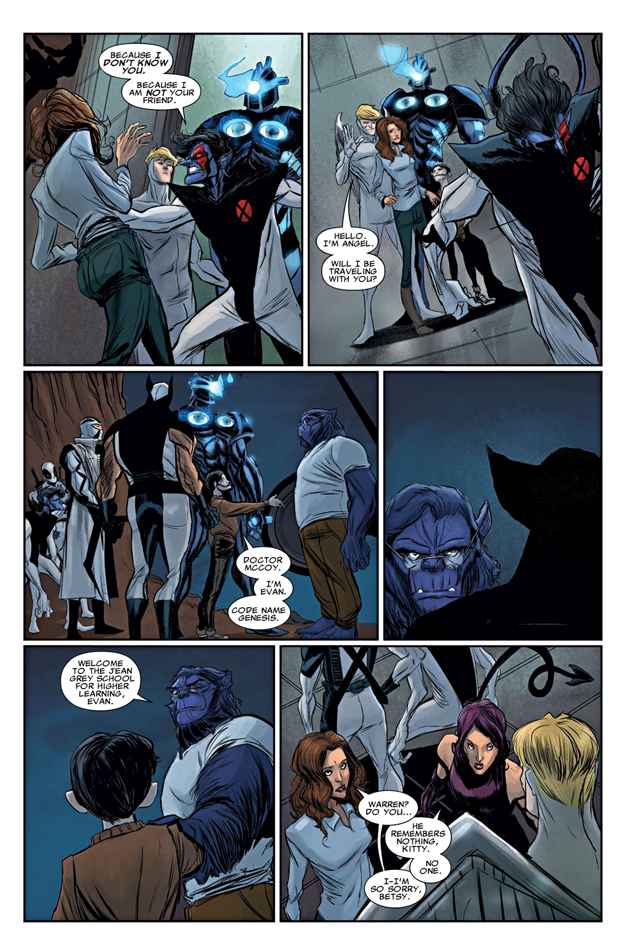 Read online Uncanny X-Force (2010) comic -  Issue #19 - 19