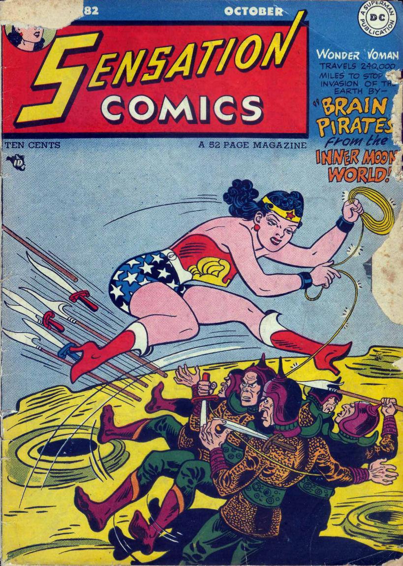 Read online Sensation (Mystery) Comics comic -  Issue #82 - 1
