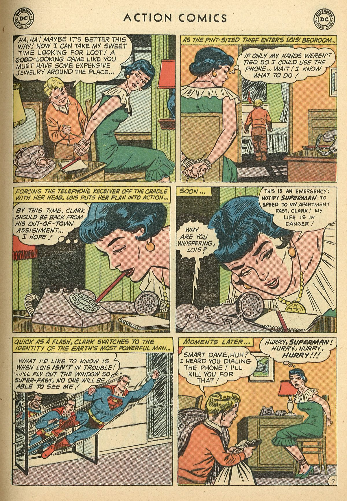 Read online Action Comics (1938) comic -  Issue #269 - 9
